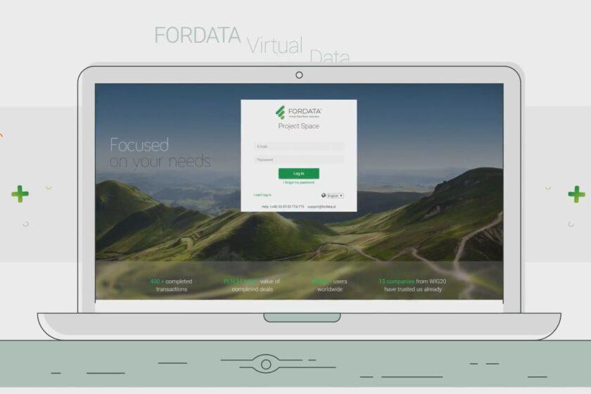 Bezpečná společnost ve vzdáleném režimu: Virtuální Data Room (VDR)